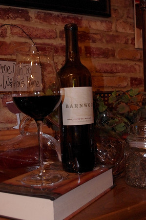 Reviewing a Black Beast – 2006 Barnwood Vineyards Petite Sirah